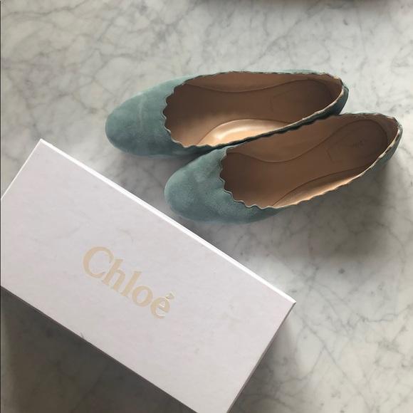 Chloe Shoes - Chloe scallop flats size 40
